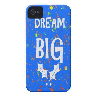 DREAM BIG wisdom script text motivational GIFTS iPhone 4 Cover