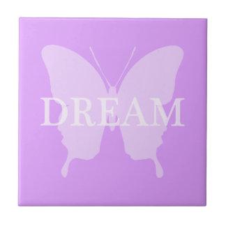Dream Butterfly Ceramic Tile