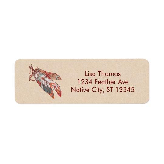 Dream Catcher Address Label