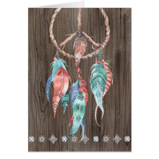 Dream Catcher All Occasion Men's Greeting Card