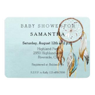 Dream Catcher baby shower Card