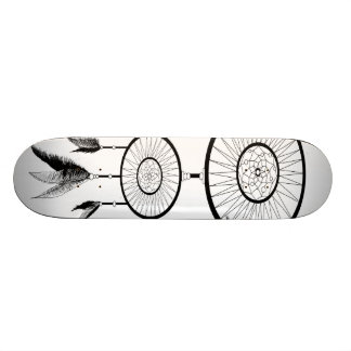 DREAM CATCHER BLACK AND WHITE SKATE BOARDS