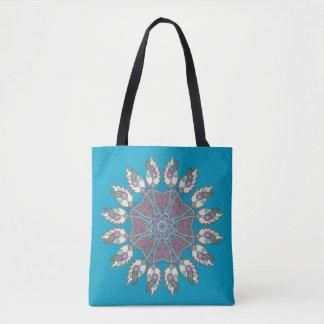 Dream catcher canvas tote bag
