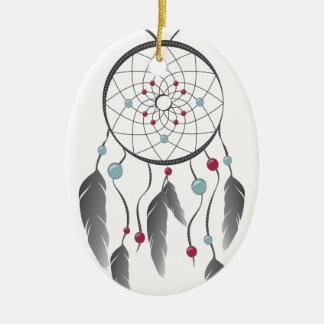 Dream Catcher Ceramic Oval Decoration