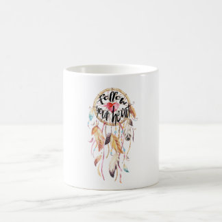 Dream Catcher Follow your heart Coffee Mug
