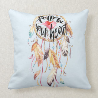 Dream Catcher Follow your heart Cushion