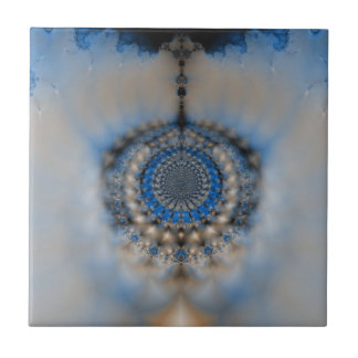 Dream Catcher Fractal Small Square Tile