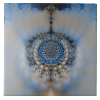 Dream Catcher Fractal Large Square Tile