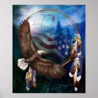 Dream Catcher - Freedom's Flight Poster