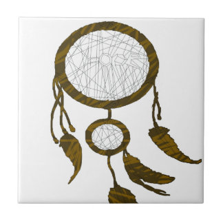 Dream catcher Lover Small Square Tile