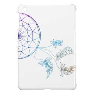 dream catcher on white background cover for the iPad mini
