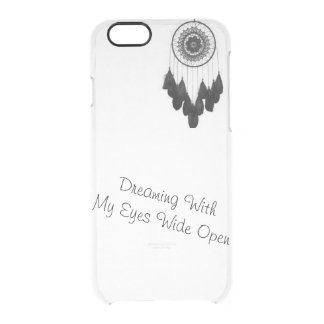 Dream - Catcher phone case, get this! Clear iPhone 6/6S Case