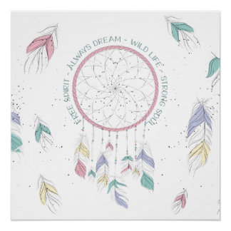 Dream Catcher Poster Always Dream