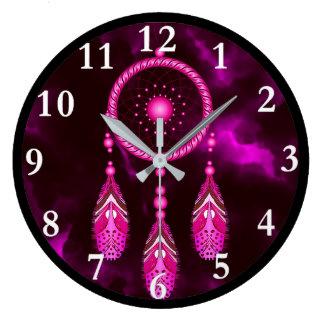 Dream Catcher Round Wall Clock