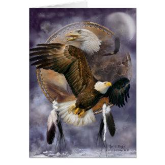 Dream Catcher Series - Spirit Eagle ArtCard Card