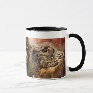 Dream Catcher Series - Spirit Of The Owls Mug