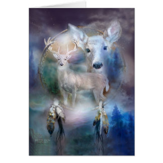 Dream Catcher - Spirit Of The White Deer ArtCard Card