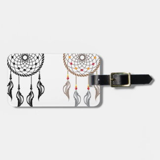 Dream Catcher vector Luggage Tag
