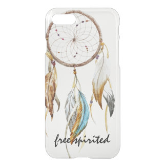 Dream Catcher with Feathers Inspirational Quote iPhone 8/7 Case