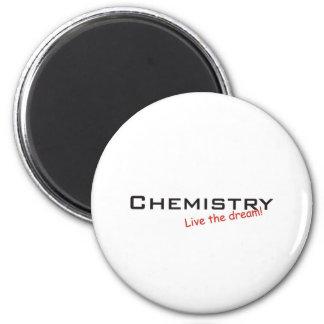 Dream / Chemistry 6 Cm Round Magnet