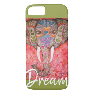 Dream Colorful Elephant Art iPhone Cases