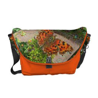 Dream Creatures, Butterfly, DeepDream Courier Bags