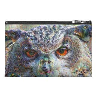 Dream Creatures, Eagle Owl, DeepDream Travel Accessories Bag