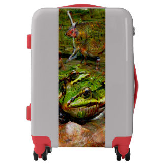 Dream Creatures, Frog, DeepDream Luggage