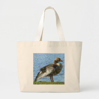 Dream Creatures, Goose, DeepDream Jumbo Tote Bag