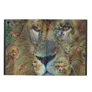 Dream Creatures, Lion 02, DeepDream iPad Air Case