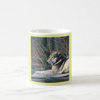 Dream Creatures, Wolf, DeepDream Coffee Mug