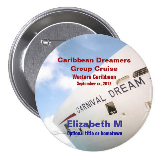Dream Cruise Custom Name Badges