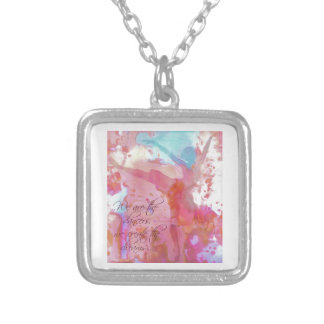 Dream Dancer Silver Plated Necklace