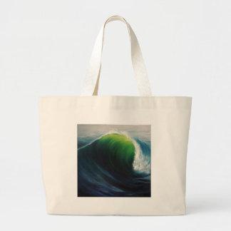Dream Deep Wave Series Large Tote Bag