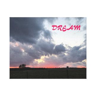 DREAM DREAMSCAPE CANVAS PRINT