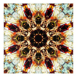 Dream Flower Mandala Acrylic Wall Art