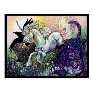 Dream Gaurdians Magical Mystical Art Postcard