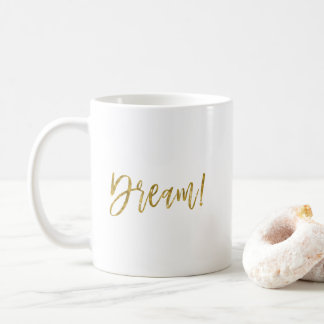 Dream Gold Foil Coffee Cup