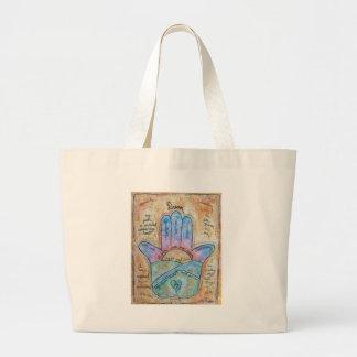 Dream Hamsa Large Tote Bag