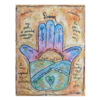 Dream Hamsa Postcard