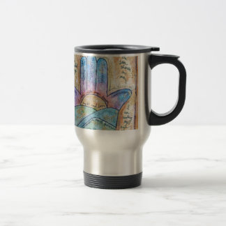 Dream Hamsa Travel Mug