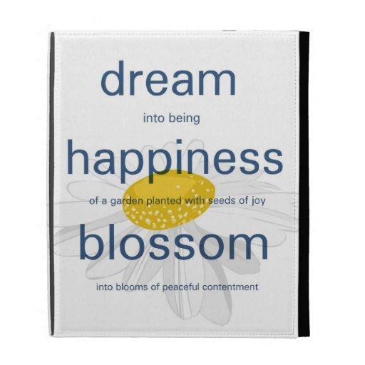 Dream, Happiness, Blossom iPad Cases