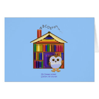 Dream Home – Library! Card