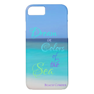 Dream in Colors of the Sea iPhone 8/7 Case