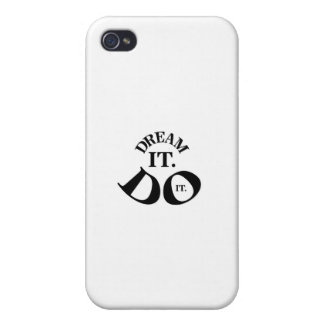 Dream it.  Do it. iPhone 4/4S Cover