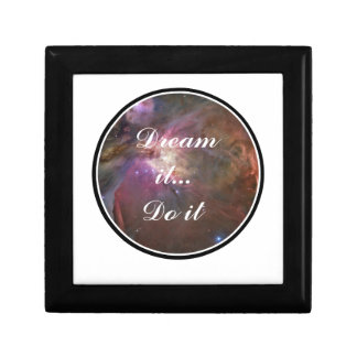Dream it, Do it - Space Small Square Gift Box