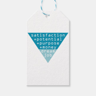 dream job formula gift tags