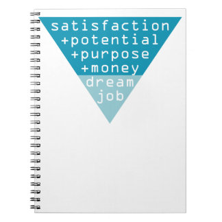 dream job formula notebooks