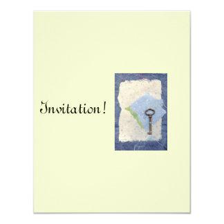 Dream Key Invitation Card
