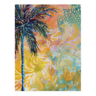 Dream Land Palm Tree Postcard
